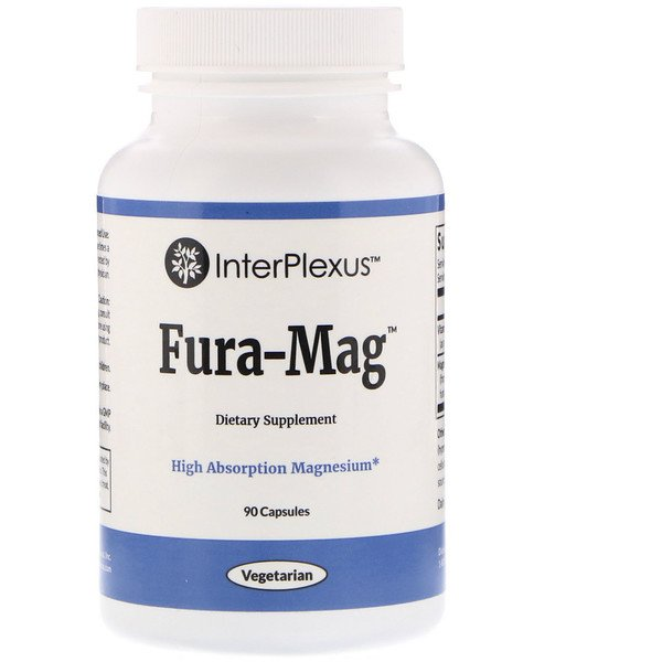 InterPlexus , Fura-Mag,90粒 (Discontinued Item)