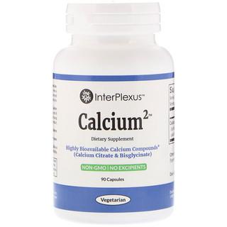 InterPlexus Inc., Calcium2, 90 cápsulas