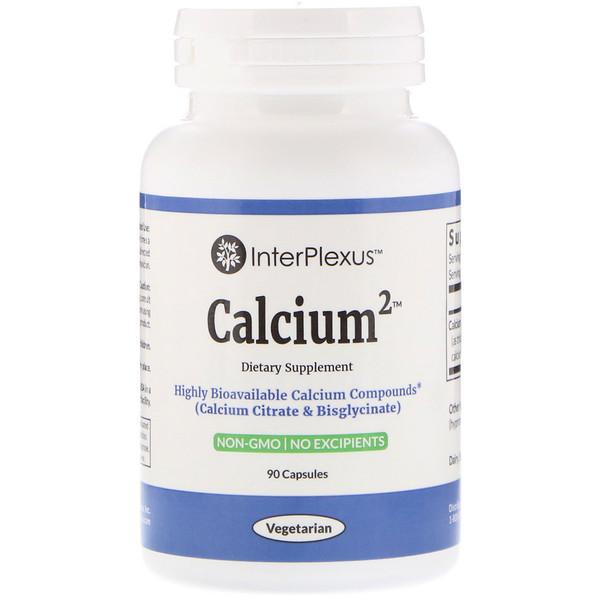 InterPlexus, Calcium2, 90 Capsules (Discontinued Item)