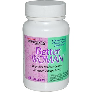 Interceuticals Inc., Better Woman, 40 Capsules