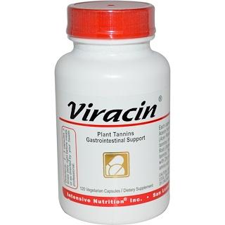 Intensive Nutrition, Viracin, Plant Tannins Gastrointestinal Support, 120 Veggie Caps