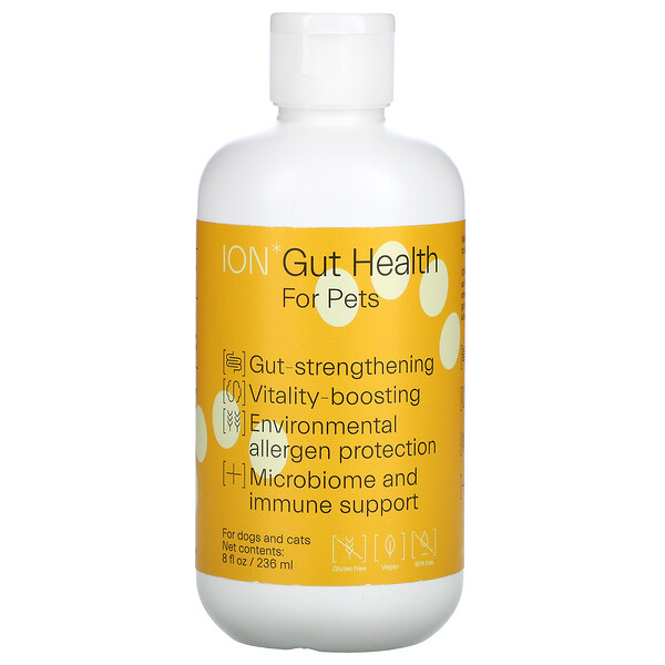 ION Biome, Gut Health For Pets, For Dogs and Cats, 8 fl oz ( 236 ml)