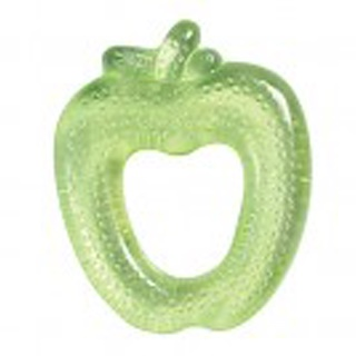iPlay Inc., Green Sprouts, Fruit Cool Soothing Teether, Green Apple, 3+ Months