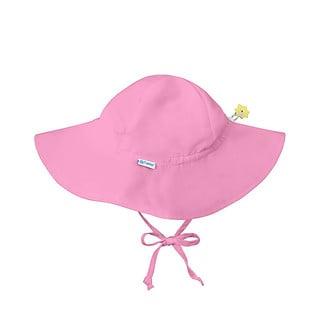 i play Inc., Sun Protection Hat, UPF 50+, 2-4 Years, Light Pink, 1 Hat