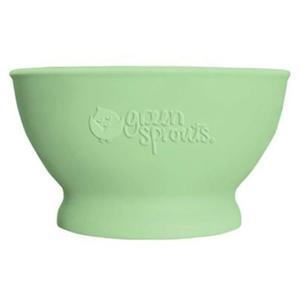 i play Inc., Green Sprouts, Learning Bowl, 6+ Months, Green, 1 Bowl 7 oz (207 ml) (Discontinued Item)