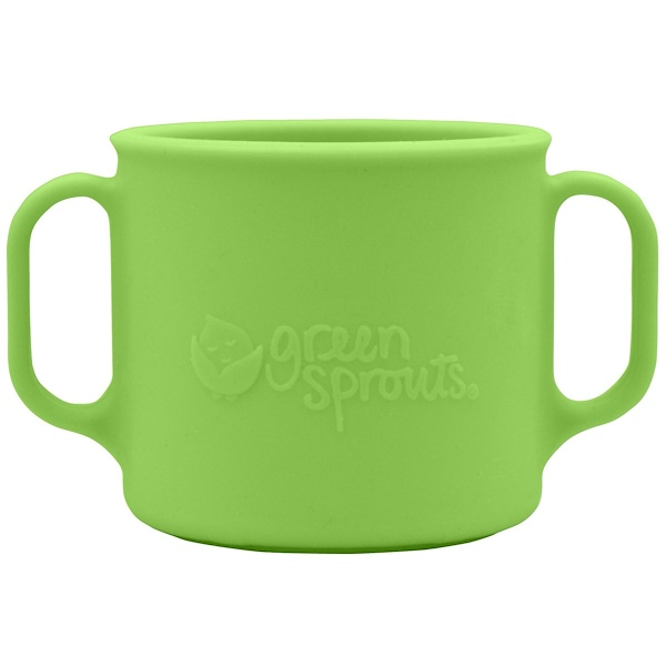 i play Inc., Green Sprouts, Learning Cup, 12+ Months, Green, 7 oz (207 ml) (Discontinued Item)