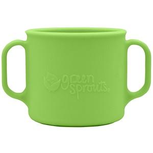 Айплэй ИНк, Green Sprouts, Learning Cup, 12+ Months, Green, 7 oz (207 ml) отзывы