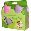 iPlay Inc., Green Sprouts, Sippy Cups, 3 Months-2 Years+, 3 Cups/3 Spouts (Discontinued Item)