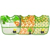 i play Inc., Green Sprouts, Wipe-Off Bib, 9-18 Months, Green Fox Set, 3 Pack (Discontinued Item)