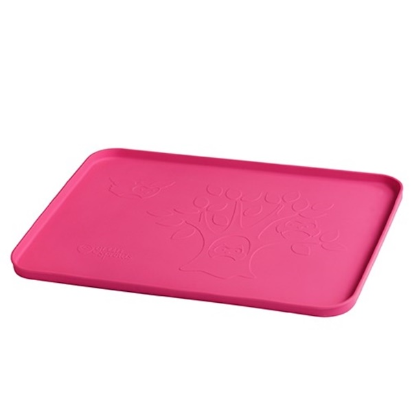 """i play Inc., Learning Platemat, Pink, 1 Mat, 14"""" x 10"""" (35.5 cm x 25 cm) (Discontinued Item)"""