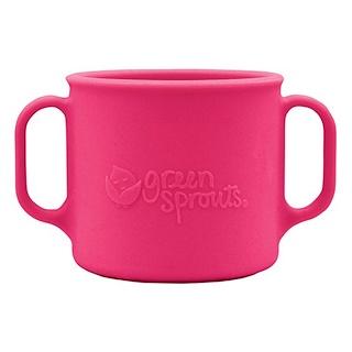 i play Inc., Зеленые ростки, обучающая чашка, от 12 месяцев, розовая, 7 унций (207 мл)
