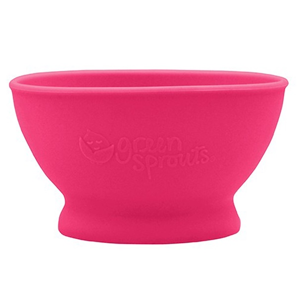 i play Inc., Green Sprouts, Learning Bowl, 6+ Months, Pink, 7 oz (207 ml) (Discontinued Item)