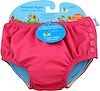 i play Inc., Swimsuit Diaper, Reusable & Absorbent, 24 Months, Hot Pink, 1 Diaper