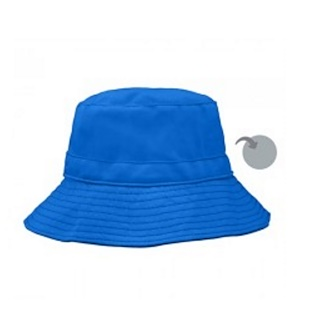 iPlay Inc., Reversible Bucket Hat, 9-12 Months, Royal Blue/Gray