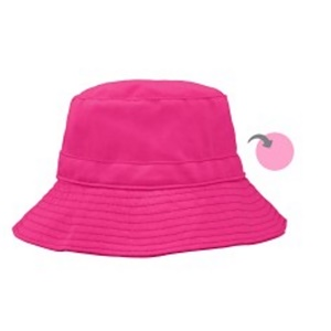 iPlay Inc., Двухсторонняя панама, 9-18 месяцев, темно-розовый/светло-розовый
