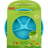 i play Inc., Green Sprouts, Learning Plate, Aqua, 12+ Months, 1 Plate, 10 oz (296 ml)