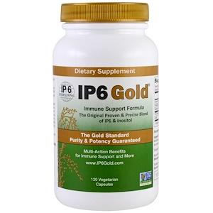 ИП 6 интернатионал, IP6 Gold, Immune Support Formula, 120 Vegetarian Capsules отзывы покупателей