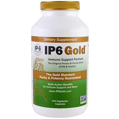 Фото - IP6 Gold, Immune Support Formula, 240 Vegetarian Capsules ip6 gold immune support formula 240 vegetarian capsules