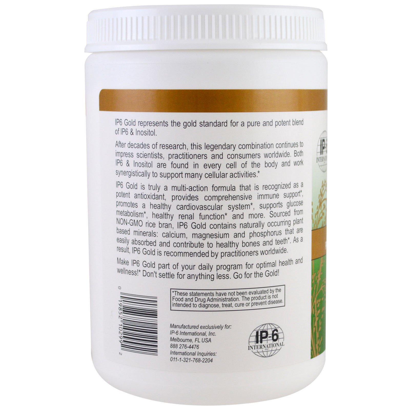 IP-6 International, IP6 Gold, Immune Support Formula, Tropical Fruit  Flavor, 14 6 oz Powder