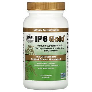 IP-6 International, IP6 Gold, Immune Support Formula, 120 Vegetarian Capsules