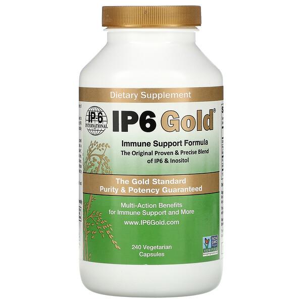 IP6 Gold, Immune Support Formula,  240 Vegetarian Capsules