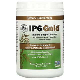 IP-6 International, IP6 Gold, Immune Support Formula Powder, Mango Passionfruit, 412 gm