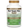 IP-6 International, Red Yeast Rice Gold, Cholesterol Support, 600 mg, 240 Vegetarian Capsules