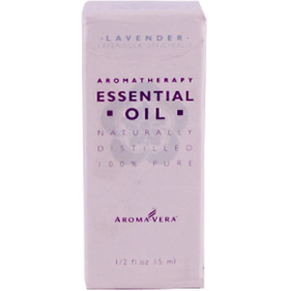 Irwin Naturals, Aroma Vera, Lavender Essential Oil, 1/2 fl oz (15 ml) (Discontinued Item)