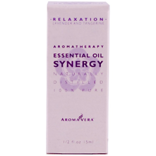 Irwin Naturals, Aroma Vera, Relaxation Essential Oil Synergy, 1/2 fl oz (15 ml) (Discontinued Item)