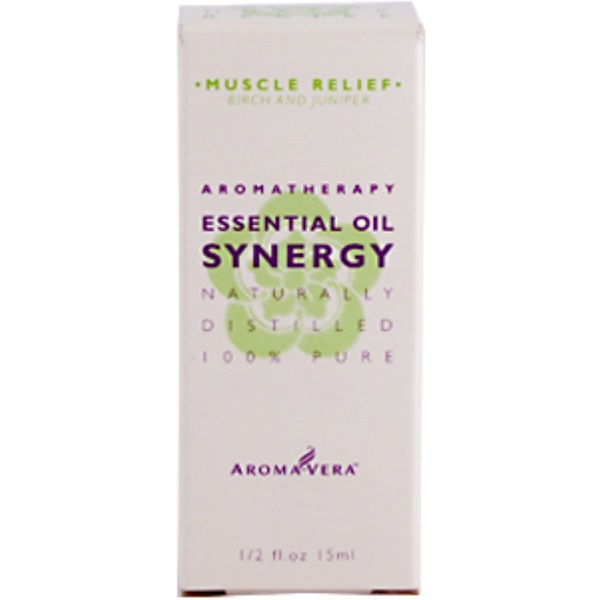 Irwin Naturals, Aroma Vera, Energy Essential Oil Synergy, Peppermint & Rosemary, 1/2 fl oz (15 ml) (Discontinued Item)