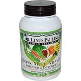 Отзывы о Irwin Naturals, Супермультивитамины с травами и энергетическими добавками доктора Лайнуса Полинга, 120капсуловидных таблеток