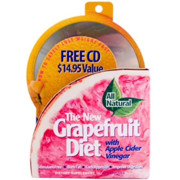 Irwin Naturals, The New Grapefruit Diet, With Apple Cider Vinegar, 45 Capsules (Discontinued Item)