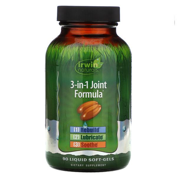 3-in-1 Joint Formula, 90 Liquid Soft-Gels