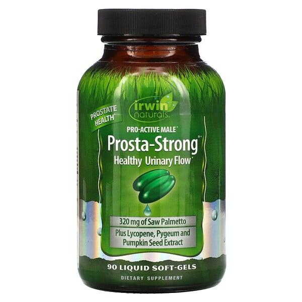 Prosta-Fuerte, 90 Cápsulas de Gel Suave con Líquido