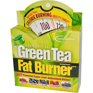 Irwin Naturals, Green Tea Fat Burner, 30 Fast-Acting Liquid Soft-Gels