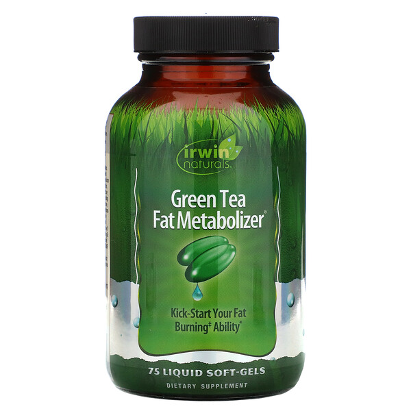 Green Tea Fat Metabolizer, 75 Liquid Soft-Gels