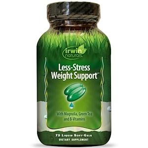 Ирвин Натуралс, Less-Stress Weight Support, 75 Liquid Soft-Gels отзывы