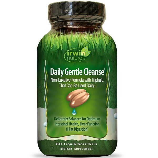 Daily Gentle Cleanse, 60 Liquid Soft-Gels