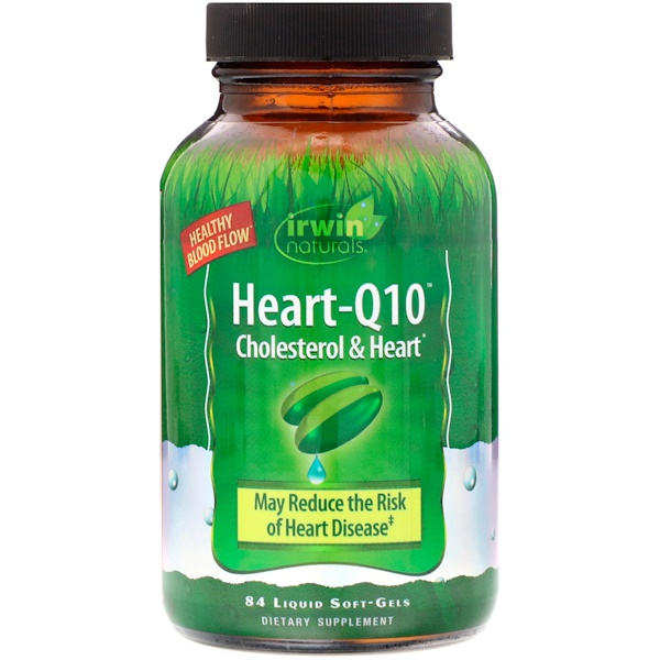 Heart-Q10, Cholesterol & Heart, 84 Liquid Soft-Gels