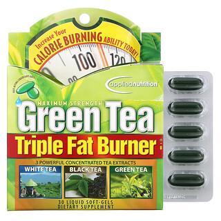 appliednutrition, Green Tea Triple Fat Burner, 30 Liquid Softgels