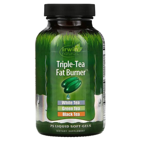 Triple-Tea Fat Burner, 75 Liquid Softgels