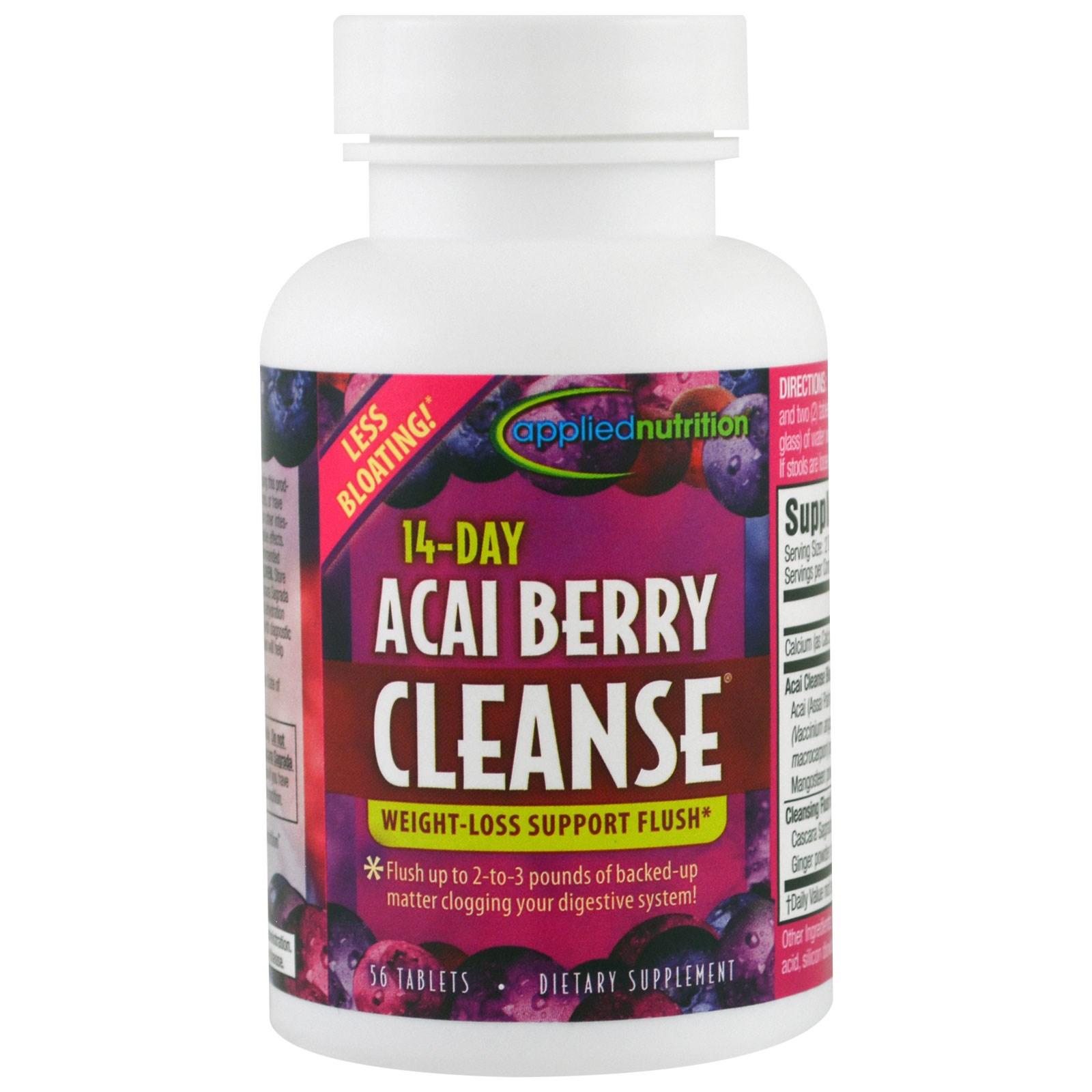 Acai berry detox pills