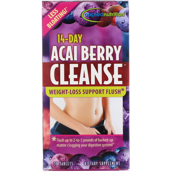 appliednutrition, 14-Day Acai Berry Cleanse, 56 Tablets