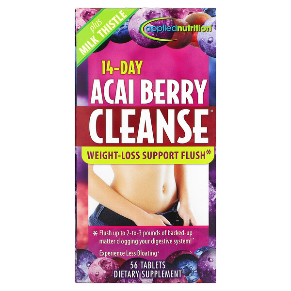 14-Day Acai Berry Cleanse, 56 Tablets