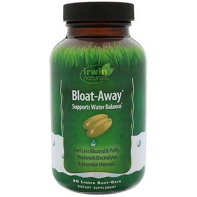 Bloat-Away, диуретик 60 жидких гелевых капсул