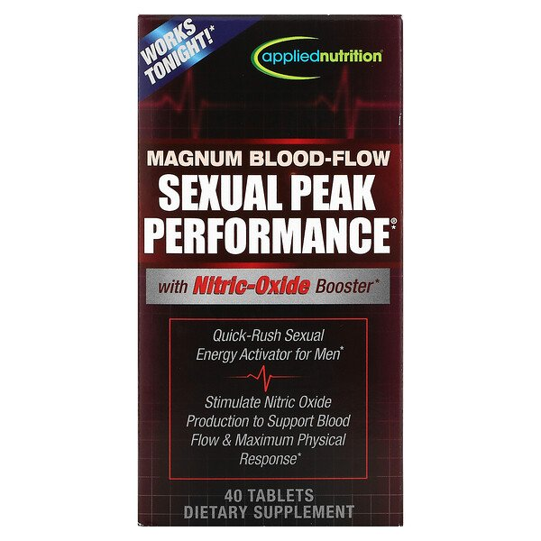Magnum Blood-Flow Sexual Peak Peformance, 40 Tablets