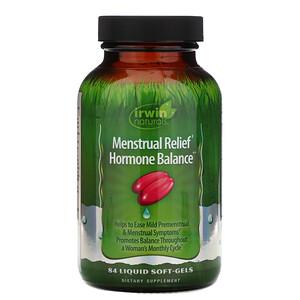 Ирвин Натуралс, Menstrual Relief Hormone Balance, 84 Liquid Soft-Gels отзывы покупателей
