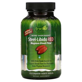Irwin Naturals, Stahl-Libido Rot, 75 Flüssig-Weichkapseln