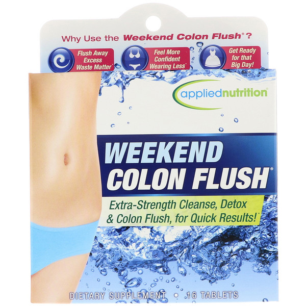 appliednutrition, Weekend Colon Flush, 16 Tablets