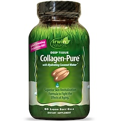 Irwin Naturals, Collagen-Pure, Deep Tissue, 80 гелевых капсул